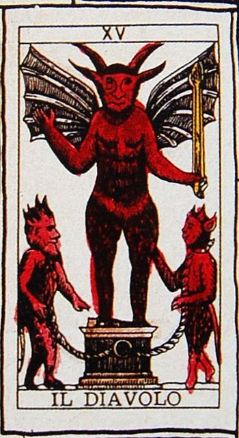 Devil Tarot Card Have you been looking for a new set of Tarot Cards? Learn more at www.beyondhereandnow.com
