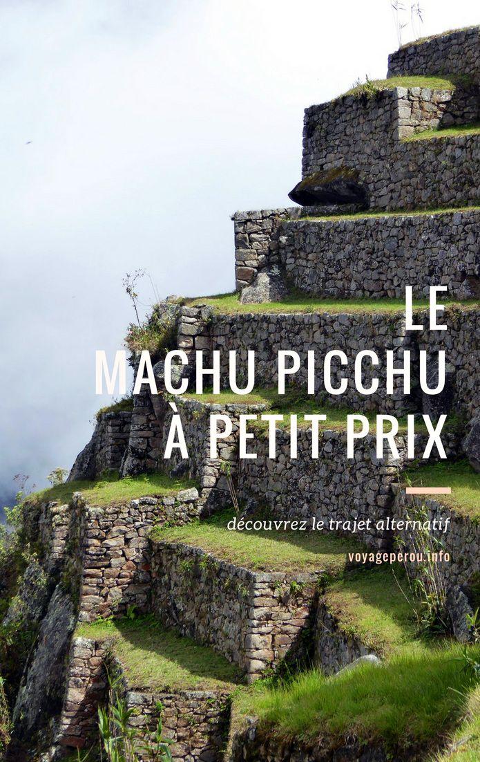 Le Machu Picchu représente une partie considérable du budget d'un voyage au Pérou. Voici comment économiser et visiter le Machu Picchu pour pas cher!