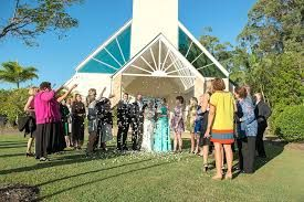Image result for sanctuary cove wedding chapel