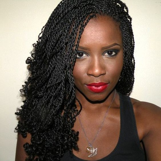 How to Style Senegalese Twists