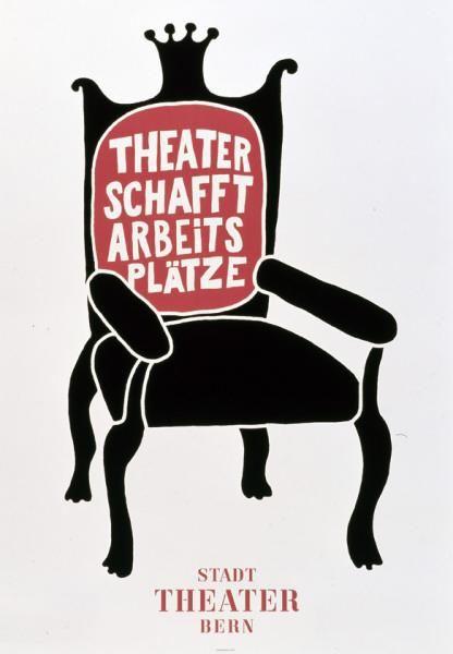 STADT THEATER BERN Il teatro crea posti di lavoro.