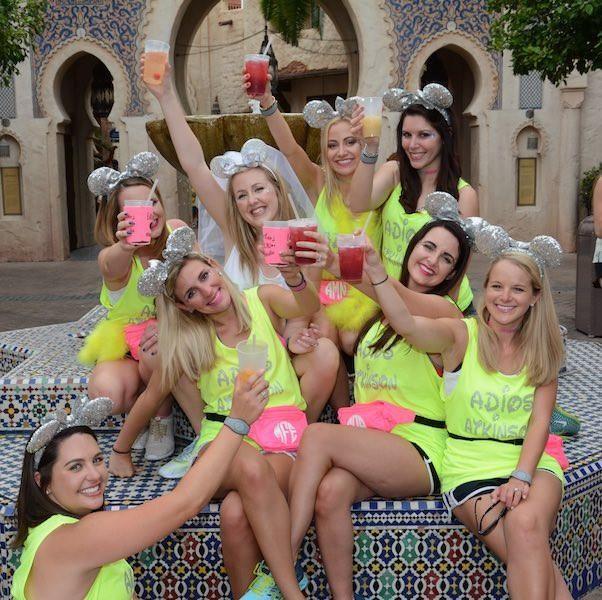 Disney Bachelorette: Drinking Around The World