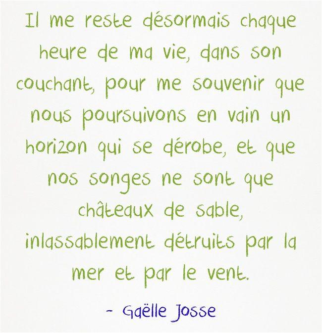 Il Me Reste Desormais Chaque Heure De Ma Vie Dans Son Couchant Poeme Et Citation Texte En Prose Gaelle Josse