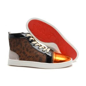 Mens Christian Louboutin Louis Satin Sneakers-Discount mens,Cheap  Louboutins,Red Bottoms