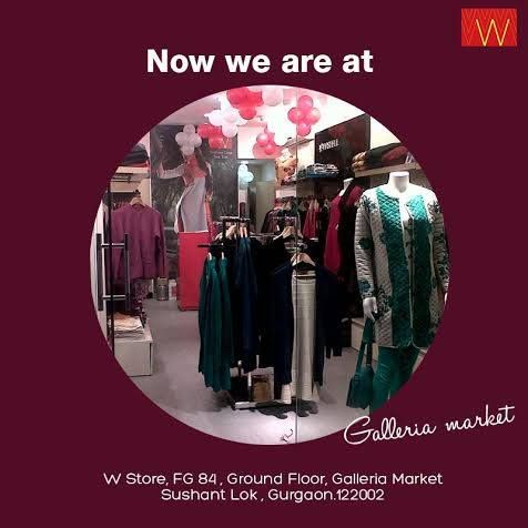 You asked for a #Wstore at Galleria Market, #Gurgaon, we surely didn't miss that!  Come & #shop with us soon-  W Store, FG 84 , Ground Floor Galleria Market , Sushant Lok, Gurgaon -122002