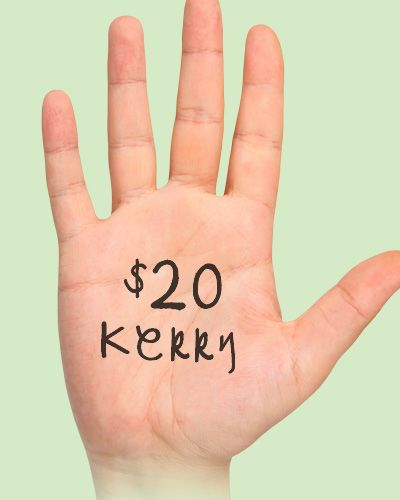 $20 support from Kerry