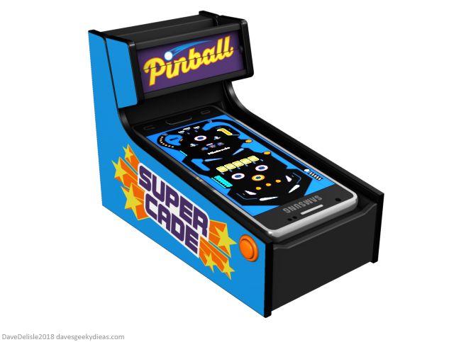 Smartphone Nintendo Switch Pinball Cradle by Dave Delisle