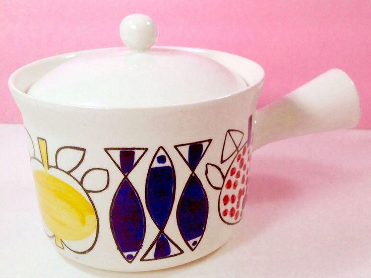 "Vintage Rorstrand Sweden Ovenware ""PAMONA"" MARIANNE WESTMAN Casserole Pot by VintagePinkProm on Etsy https://www.etsy.com/listing/264210333/vintage-rorstrand-sweden-ovenware-pamona"