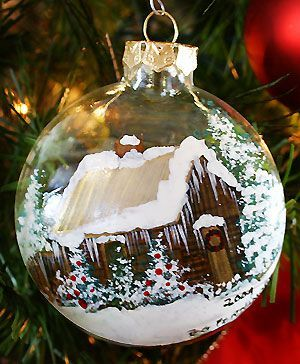 Best 25+ Painted christmas ornaments ideas on Pinterest | Painted ...