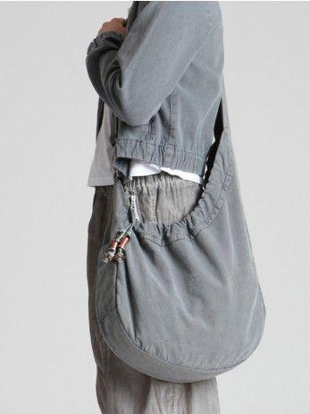 COTTON BAG WITH MILITARY DYE-Lurdes Bergada