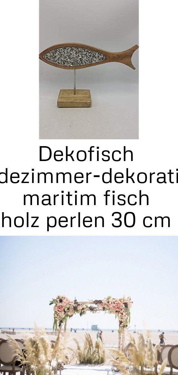Dekofisch Badezimmer Dekoration Maritim Fisch Holz In 2020 Place