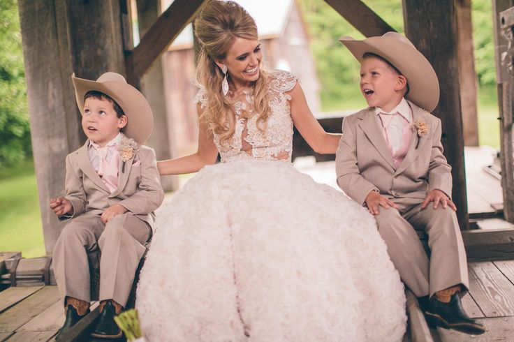 Country Wedding Ring Bearers.. Especially since nearly all my friend will prob have youngins about the right age