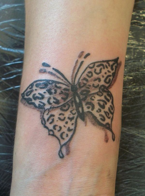 Cheetah and Leopard Print Tattoos for Women