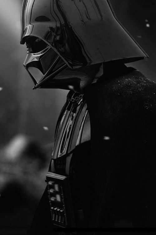 Darth Vader. I feel like I can see emotions... Even behind such a lurking mask.