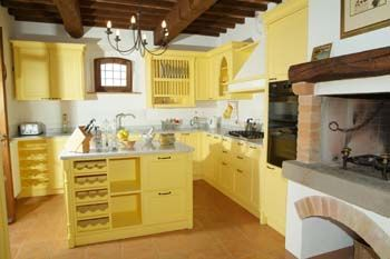 @Jane Holestine: Decorating Ideas, Colorful Kitchens, Yellow Cabinets, Modern Kitchens, Kitchen Ideas, French Country Kitchens, Yellow Kitchens, Yellow Kitchen Cabinets