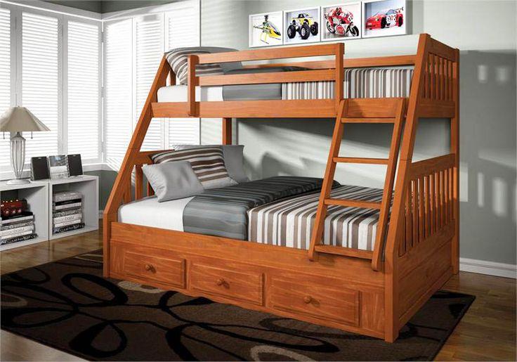 70 Best Bunk Bed Plans Images On Pinterest Bunk Beds