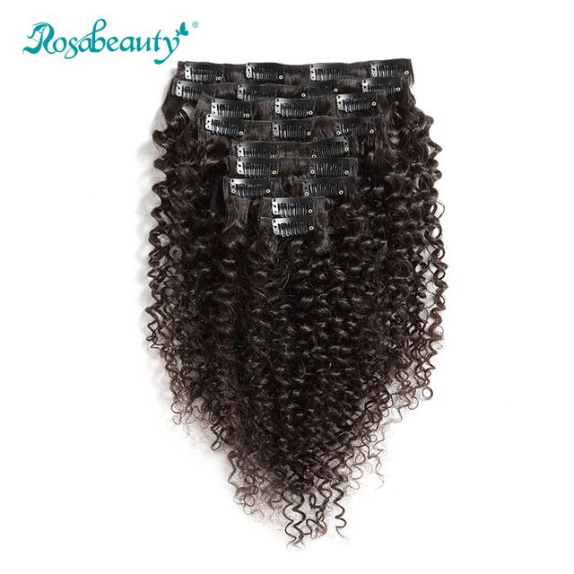 140G Clip In Hair Extensions kinky curly ★ Quality product and excellent customer service.★ Ships to more than 200 countries and regions, such as USA, UK, AUSTRALIA.