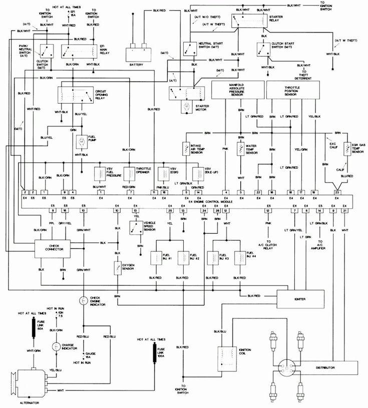 Toyota Corolla Wiring Diagrams Inspirational Enchanting