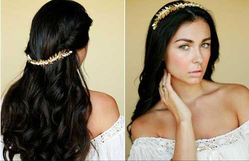 Penteados específicos para noivas morenas, confira: #noivasmorenas #penteadoparacasamento #penteadosparanoivas http://salaovirtual.org/penteados-noivas-morenas/