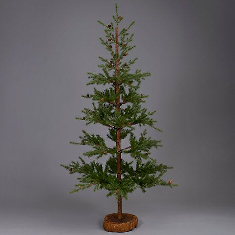 Buy John Lewis Woodland Christmas Tree Green 6ft Online