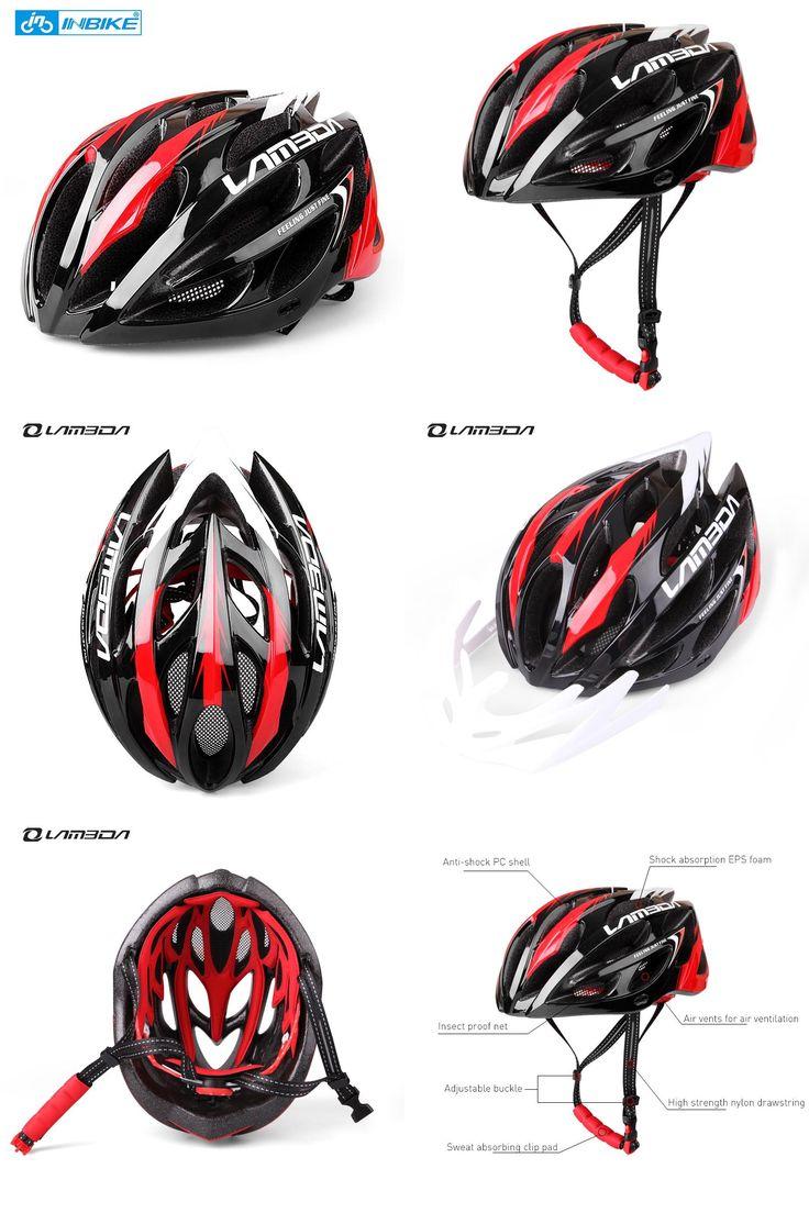 [Visit to Buy] LAMBDA Integrally-molded Cycling Helmet for Bike MTB 23 Vents Ultralight Bicycle Helmet H069 #Advertisement