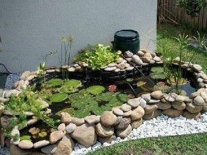 Installing a preformed pond
