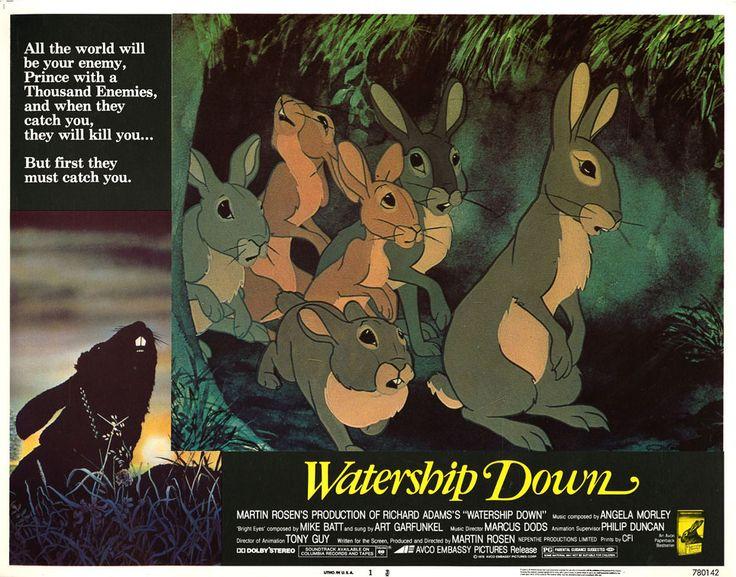 Watership Down (1978) - Martin Rosen.  La collina dei conigli. (USA)