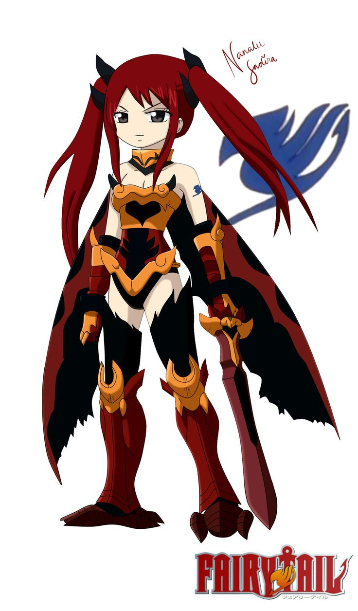 erza scarlet flame empress armor by nanaleesadira26 on