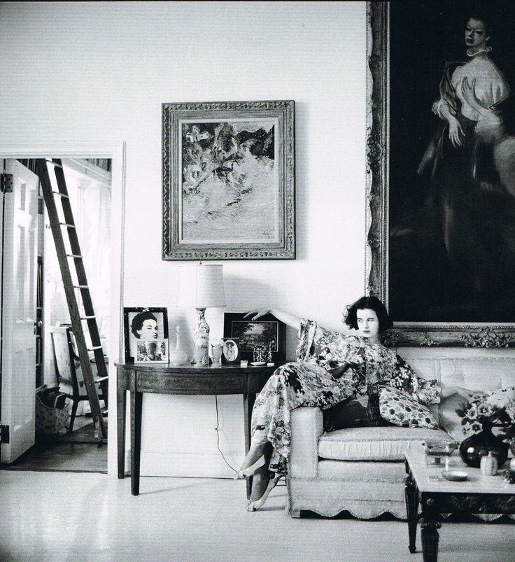Gloria Vanderbilt. I love this photo.  via froulala: Bookworm Weekend: The World of Gloria Vanderbilt