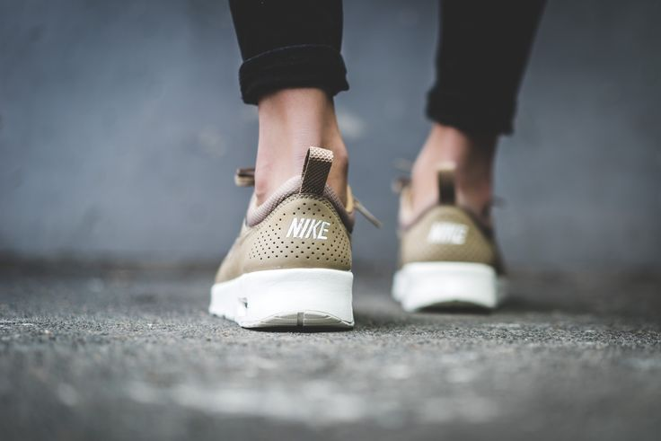 Nike Air Max Thea Premium Desert Camo String Sail Womens Sale UK