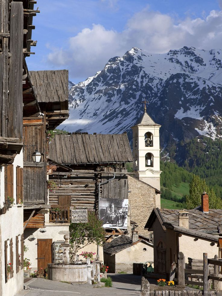 Saint-Véran, Queyras, Hautes-Alpes, France