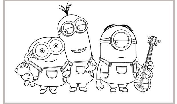 Dibujos Para Colorear Minions Minion Coloring Pages Minions