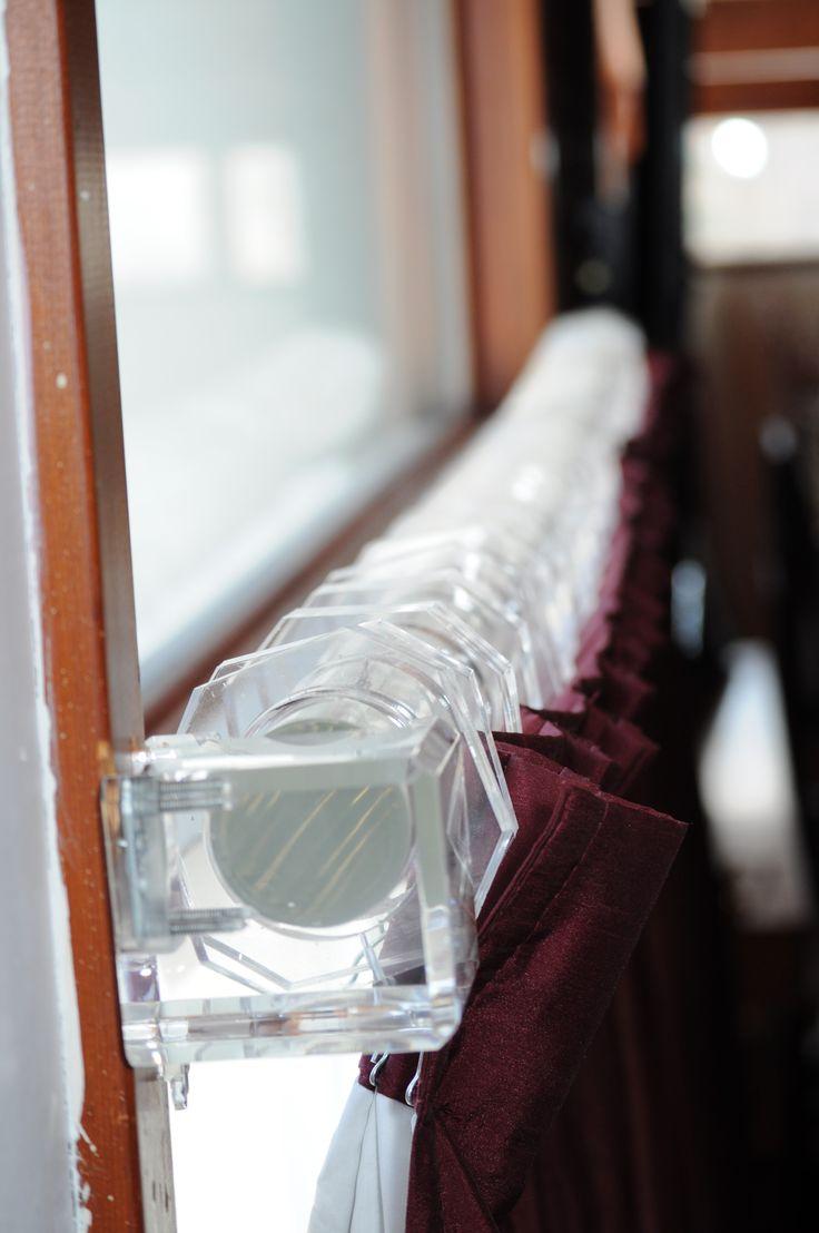 Best 25+ Acrylic curtain rods ideas on Pinterest | Brass curtain ...