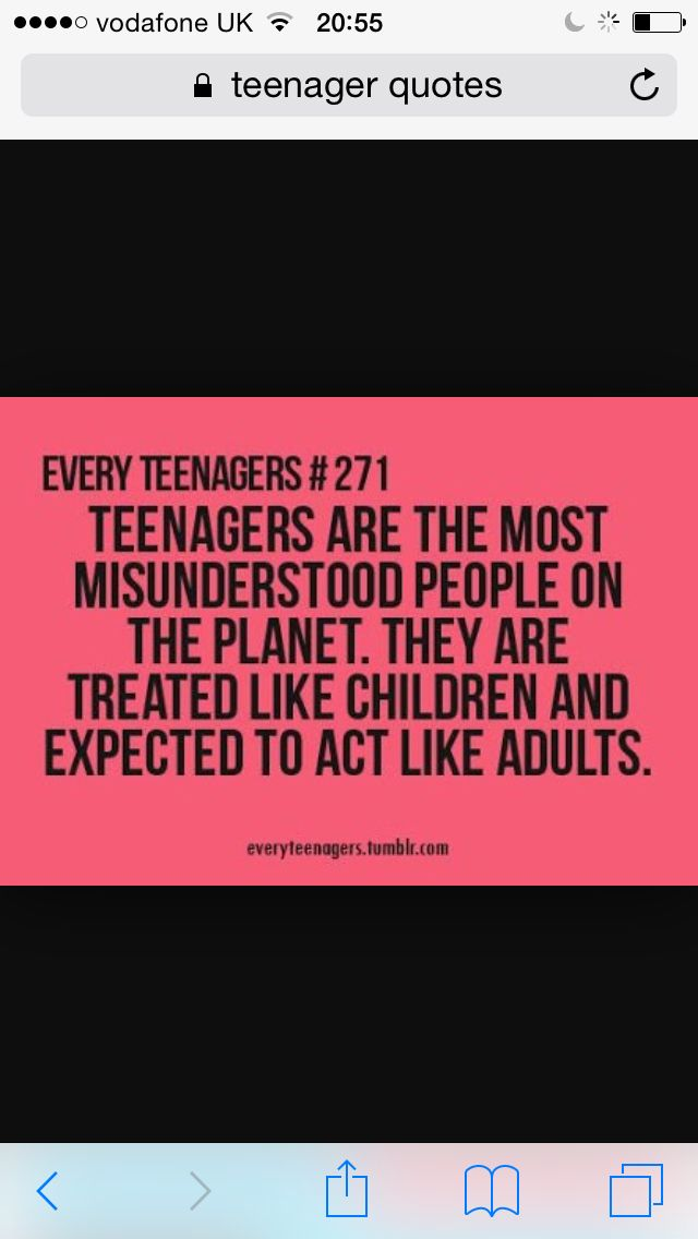 Teenage Quotes 17 Best Teenager Quotes Images On Pinterest  Teen Quotes Teenage .