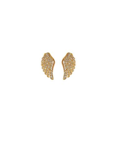 Beautiful angel wing earrings complete the perfect summer look