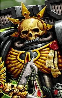 Chaplain Lemartes,Guardian of the Lost, the Warden of the Blood Angels' Death Company #warhammer #wh40k #warhammer40k
