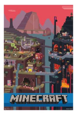 Minecraft Sam Cube Poster $8.50