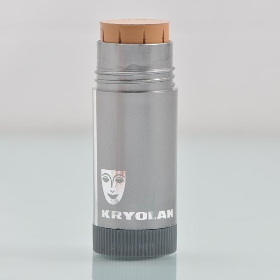 Kryolan tv Paint stick. Leaves your face looking flawless.