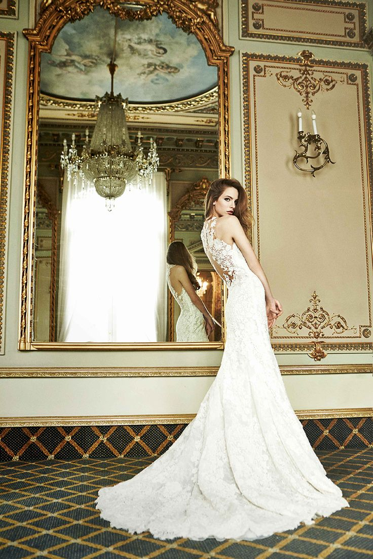 CAREZZA Style from Atelier  See it at Precious Memories Bridal in Malden, MA. 781-397-1336
