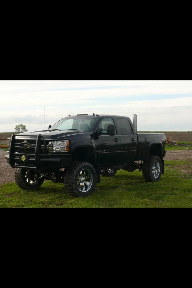 Lifted Chevy Diesel Trucks With Stacks | www.imgkid.com ...