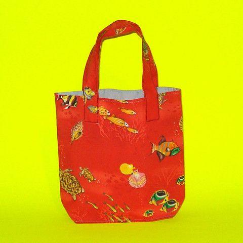 Red Fish Ocean Purse - Mookie Designs