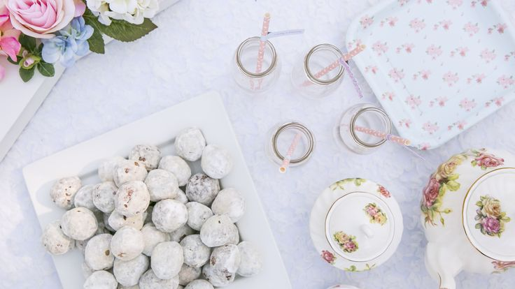 Tea Party Baby Shower Party Ideas | Photo 1 of 14