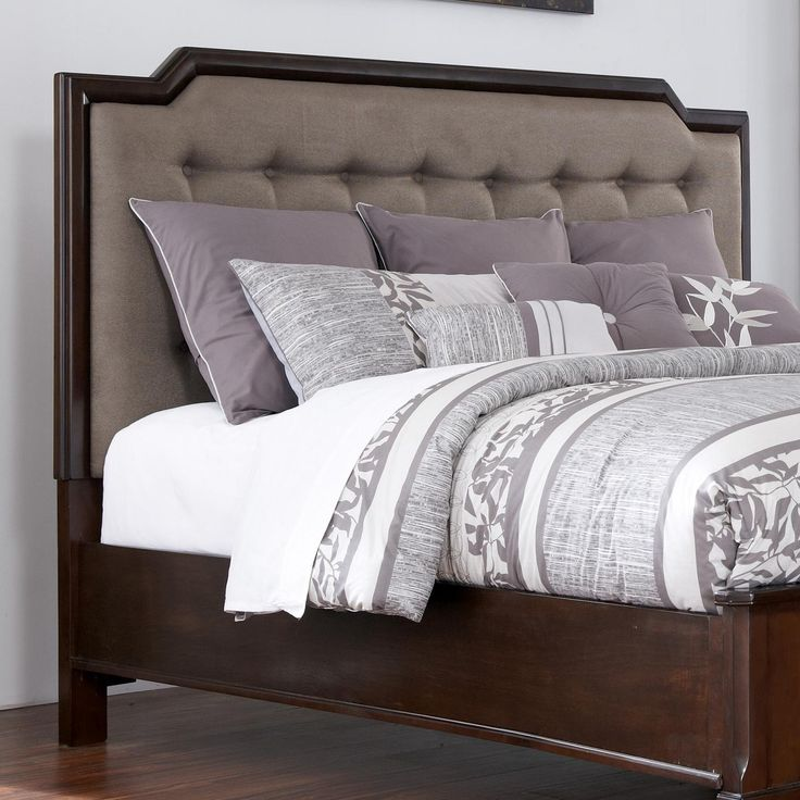 Larimer Queen Upholstered Headboard By Ashley Millennium Upholstered Headboard King Queen