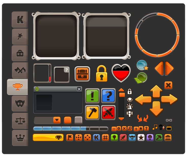 Eléments d'interface | BlackLiliPute                                                                                                                                                                                 Plus