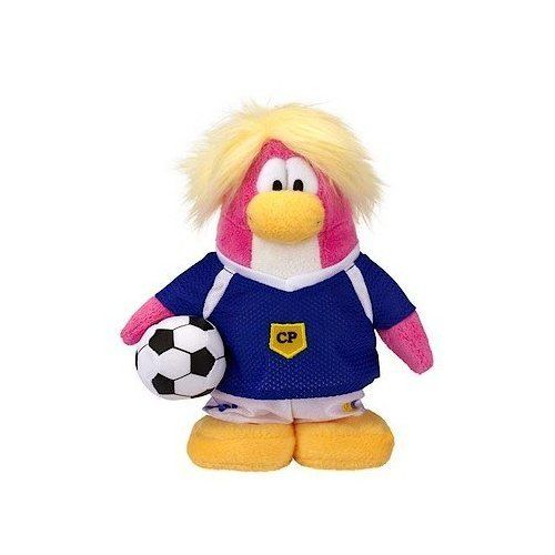 SAVE 600  VALUE DEAL on RARE Club Penguin SOCCER GIRL 65 Plush  VALUE DEAL  Just the Rare Plush without Coin or Code *** Be sure to check out this awesome product.