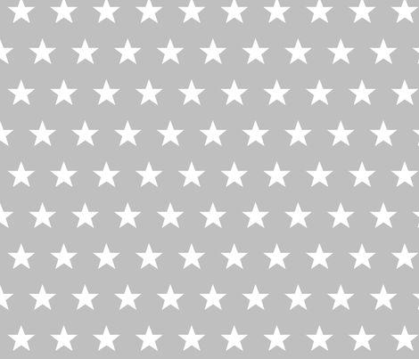 star grey fabric by katarina on Spoonflower - custom fabric