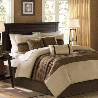 Limbo 24-piece Brown Contemporary Bed in a Bag with Sheet Set | Overstock.com Shopping - The Best Deals on Bed-in-a-Bag