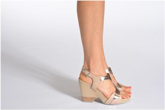 Clarks Sandalen Rosalie Petal schuhe getragen