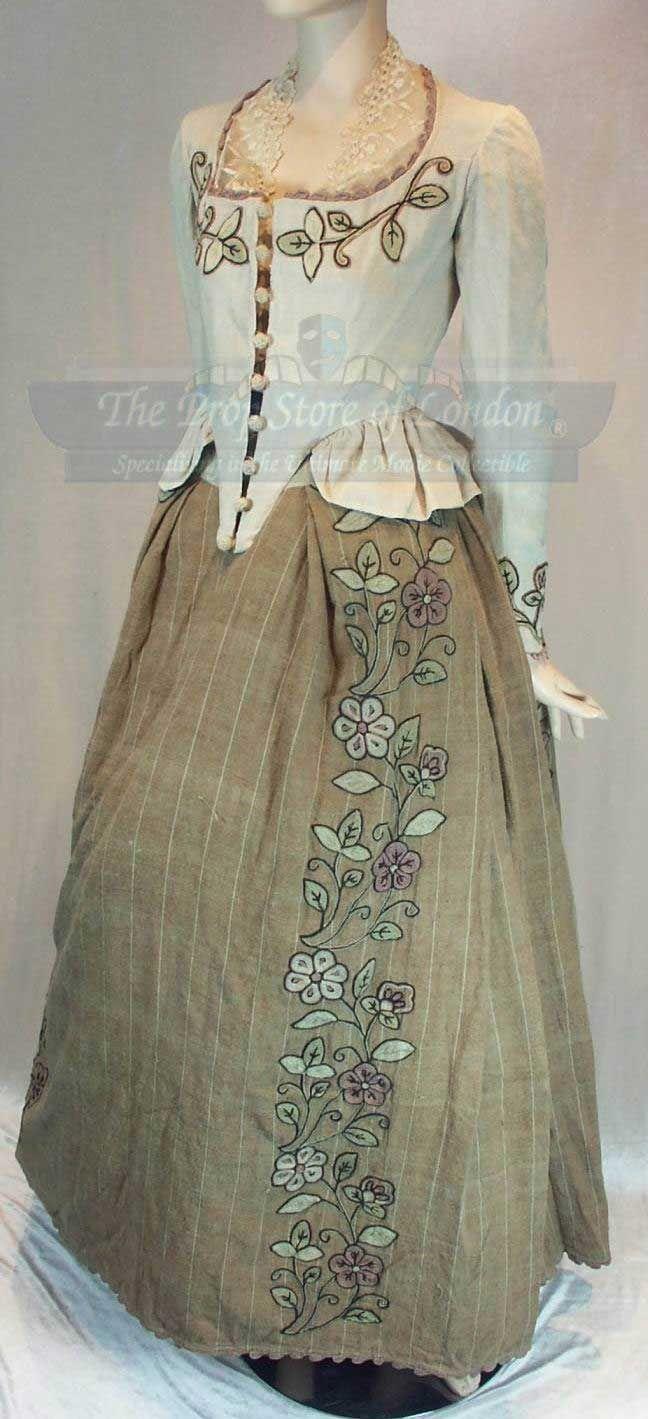 "Beth Killian (the midwife) costume worn by Claire Skinner in Tim Burton's ""Sleepy Hollow"" (1999)"