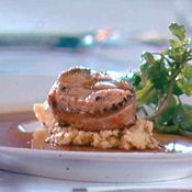 Chef Sieck's Wrapped Turkey Medallions, Recipe  I'm not a fan of turkey bacon. I'd substitute pancetta.